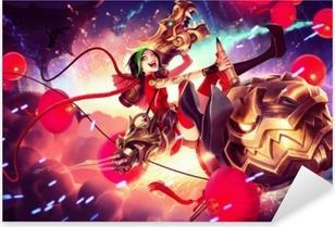 Pixerstick Dekor Jinx - League of Legends