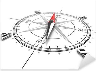 Pixerstick Dekor Kompass