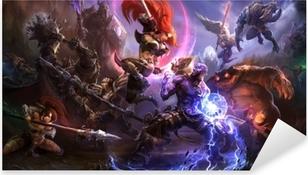 Pixerstick Dekor League of Legends