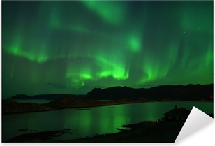 Pixerstick Dekor Norrsken över Northcape. 8 oktober 2013