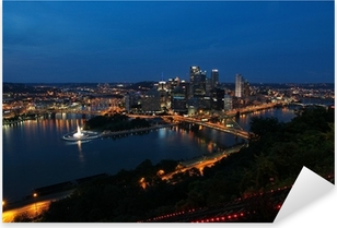 Pixerstick Dekor Pittsburgh, Pennsylvania, USA