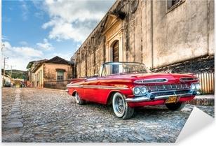 Pixerstick Dekor Röd Chevrolet