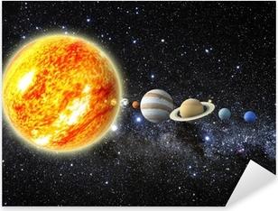Pixerstick Dekor Solsystem