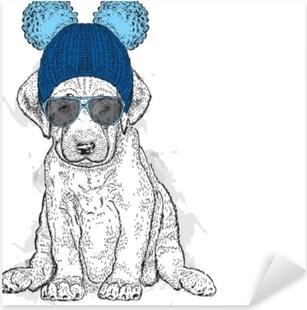 6b7c3228db98 Dekor Sömlöst mönster med färgglada hattar och strumpor. barnkläder  illustrerade i akvarell. • Pixers® - Vi lever för förändring