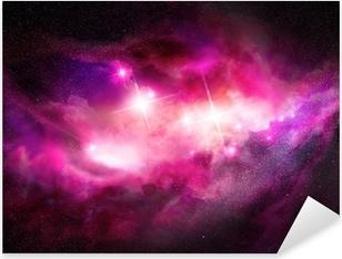 Pixerstick Dekor Space Nebula - Interstellar molnet