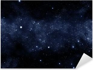 Pixerstick Dekor Starfield Vintergatan