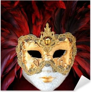 Pixerstick Dekor Venetian Carnival Mask