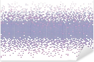 Pixerstick Dekor Violett gradient pixlar bakgrund