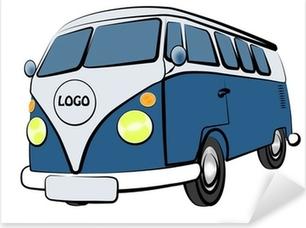 Pixerstick Dekor VW Bus
