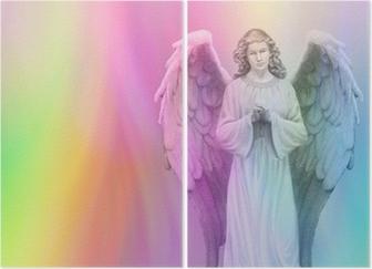 Díptico Ángel del arco iris 88