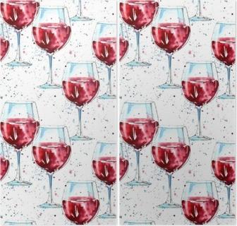abe0144545d8 Quadro em Tela Vector padrão sem costura de ingredientes de vinho quente.  Frutas e temperos coloridos em fundo preto. • Pixers® - Vivemos para mudar