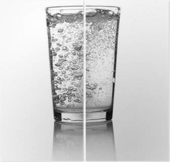 Glass of water Diptych