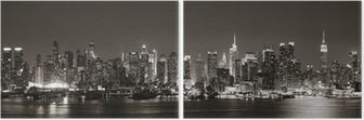 Midtown Manhattan skyline Diptych