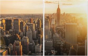 New York Diptych