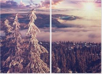 Winter in Norway Diptych