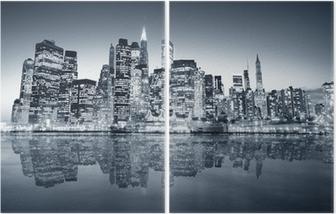 Diptychon New york manhattan