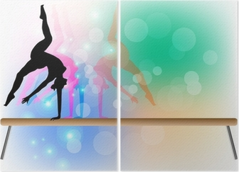 Diptych Gymnastika - Beam