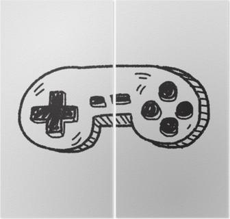 Diptyk Doodle spelkontrollen