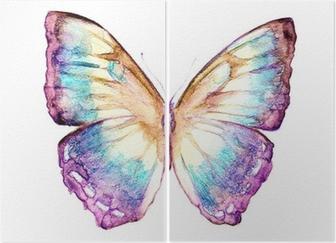 Diptyque Conception papillons