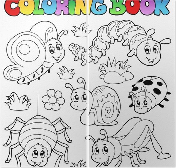 Diptyque Livre De Coloriage Mignons Insectes 1 Pixers Nous