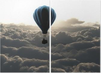 Diptyque Montgolfière dans le ciel