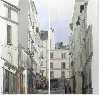 Diptyque Rue près de Montmartre à Paris