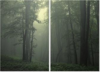 Diptyque Vert forêt après la pluie