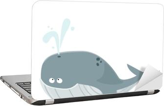Dizüstü Bilgisayar Çıkartması Grande Baleine Bleue