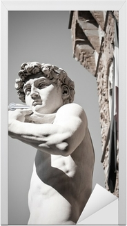 """Support the Arts STATUE OF DAVID POSTER 24.25/"""" X 36.25/"""" NOS b580"""
