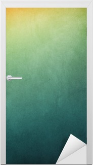 Textured Gradient Backgrounds Door Sticker