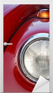 VW Volkswagen Beetle Old Door Sticker