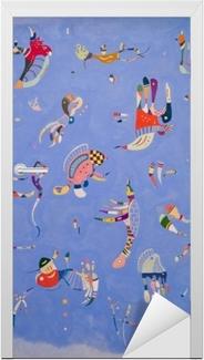 Wassily Kandinsky - Sky Blue Door Sticker