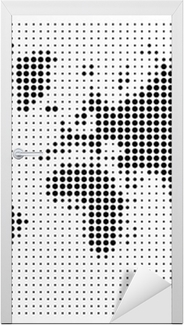 World map black dots atlas composition eps10 vector file poster world map black dots atlas composition eps10 vector file poster pixers we live to change gumiabroncs Gallery