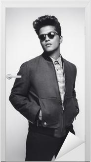 Bruno Mars Dør klistemærke