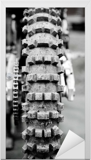 Championnat motocross 6 Dør klistemærke