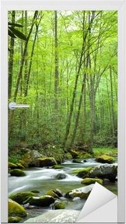 Jungle stream Dør klistemærke