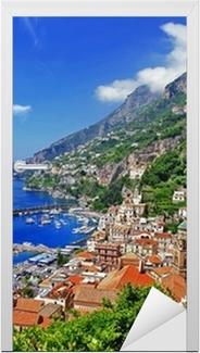 Smukke Amalfikysten, Italien Dør klistemærke