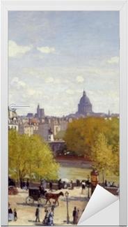 Dørklistremerke Claude Monet - Quai du Louvre