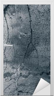 Dørklistremerke Flis, tekstur av blader
