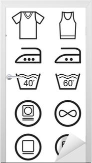 81a371ab Pixerstick-klistremerke Sett med vaske symboler • Pixers® - Vi lever for  forandring