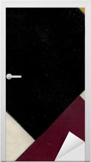 Dørklistremerke Theo van Doesburg - Kontra-sammensætning XI