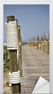 Omtyckta Poster Board-walk rep staket på stranden • Pixers® - Vi lever för TP-12