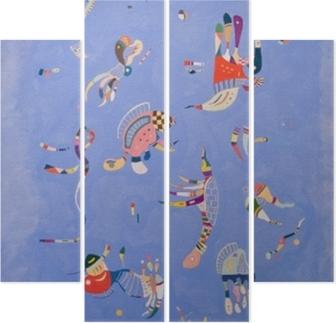 Dört Parçalı Vasiliy Kandinskiy - Gökyüzü mavi
