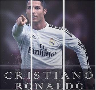 Drieluik Cristiano Ronaldo