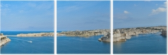 Drieluik Grote Haven in Malta