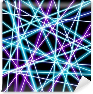 Vinil Duvar Resmi Abstract vector background, daha parlak çizgiler, geometri, teknoloji, neon duvar kağıdı