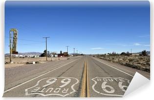 Vinil Duvar Resmi Bağdat Kaliforniya - Historic Route 66