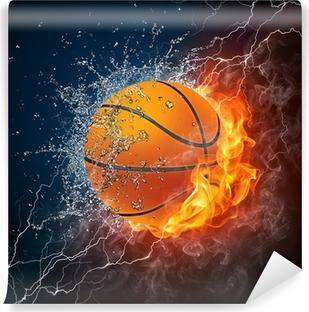Vinil Duvar Resmi Basketbol topu