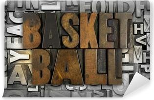 Vinil Duvar Resmi Basketbol