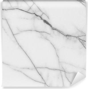 Vinil Duvar Resmi Beyaz mermer dokusu
